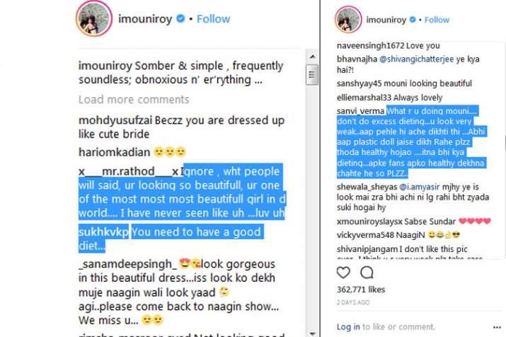 Mouni roy troll