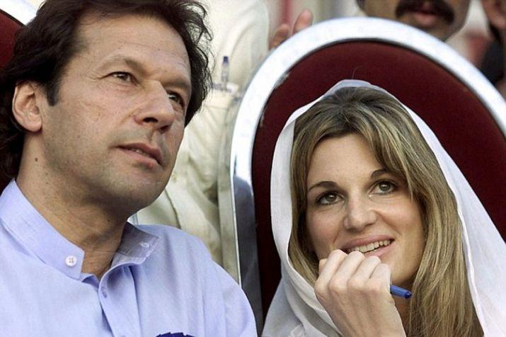 अपनी पहली पत्नी जेमिमा गोल्डस्मिथ के साथ इमरान खान | AP