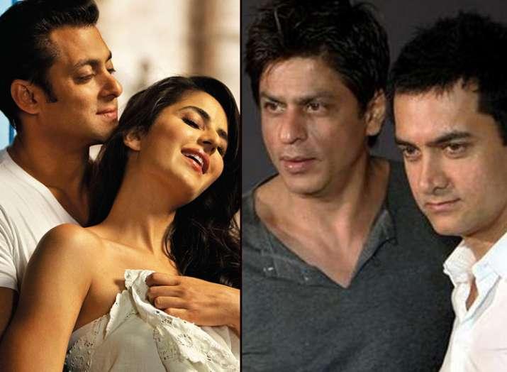 Salman Khan Shah rukh Khan Aamir khan