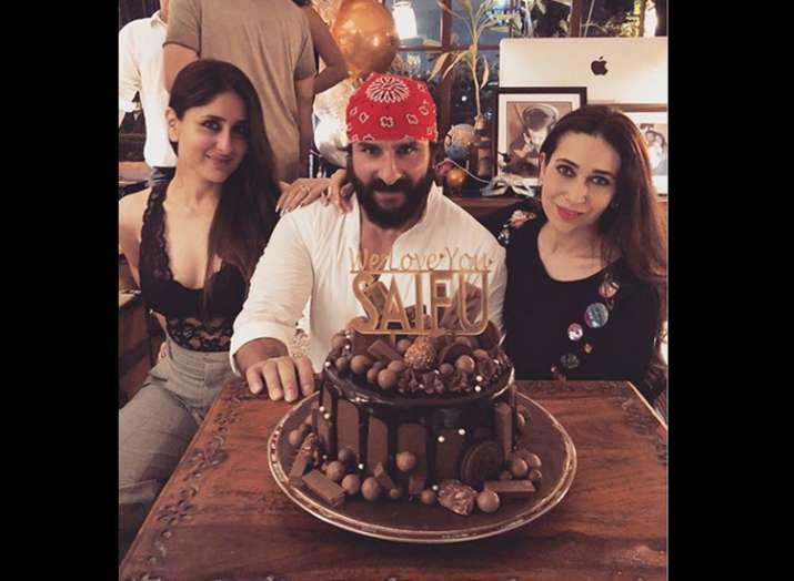 Saif Ali Khan birthday celebration