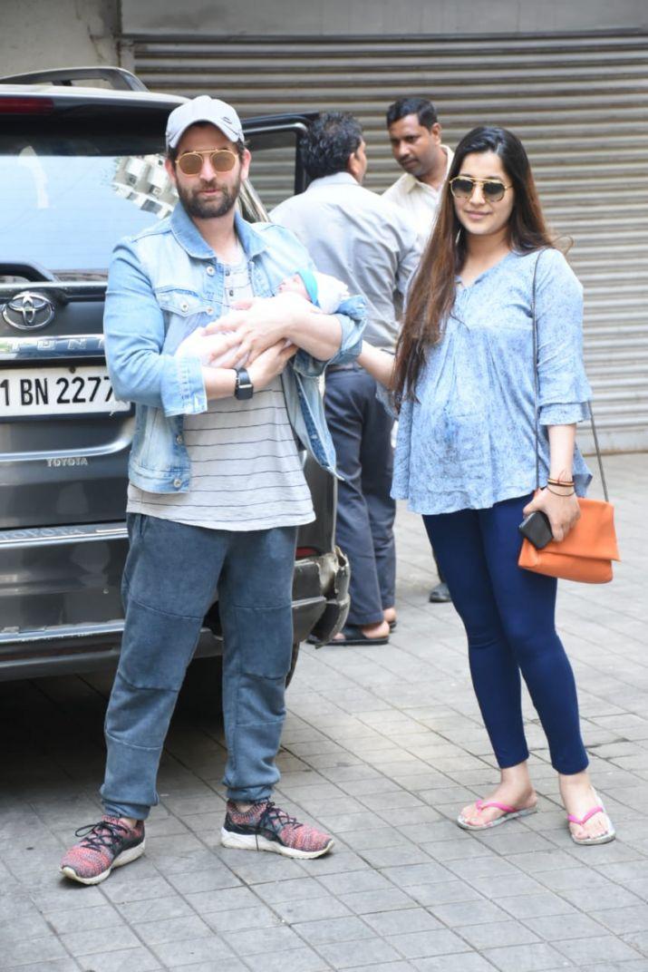Neil Nitin Mukesh and wife Rukmini Sahay's baby girl Nurvi