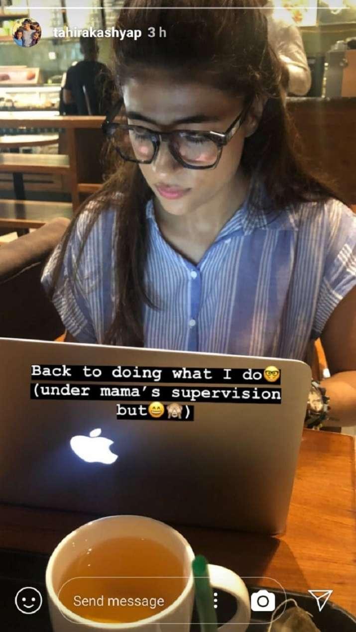 Tahira Kashyap Instagram Story
