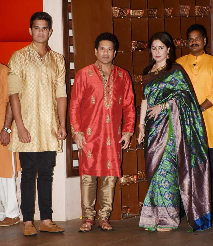 Sachin With Family