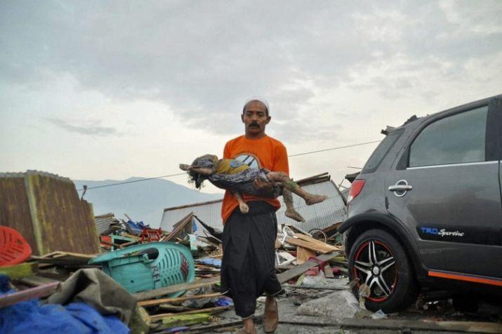 इंडोनेशिया में आए भूकंप और सुनामी ने व्यापक तबाही मचाई है।