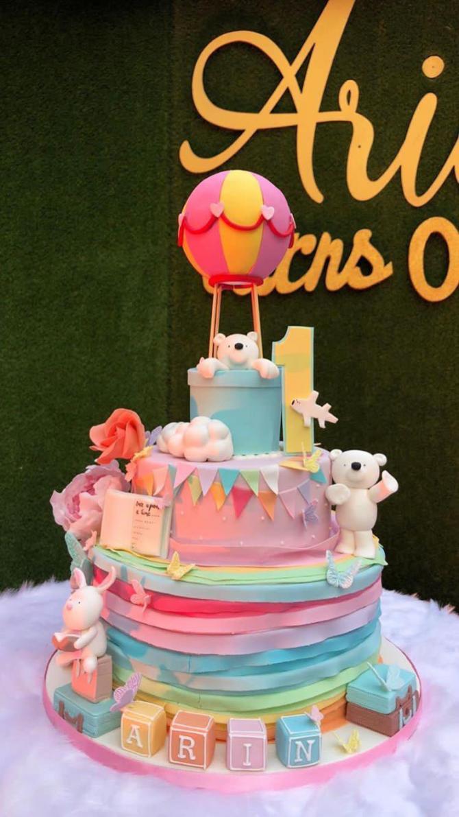 Arin birthday cake