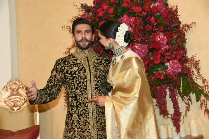 Deepika Padukone-Ranveer Singh Bengaluru Wedding Reception