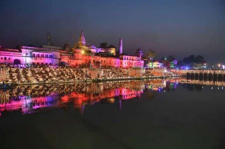 Grand Diwali celebrations, Ayodhya, UP CM, Yogi Adityanath South Korean First lady Kim Jung-sook