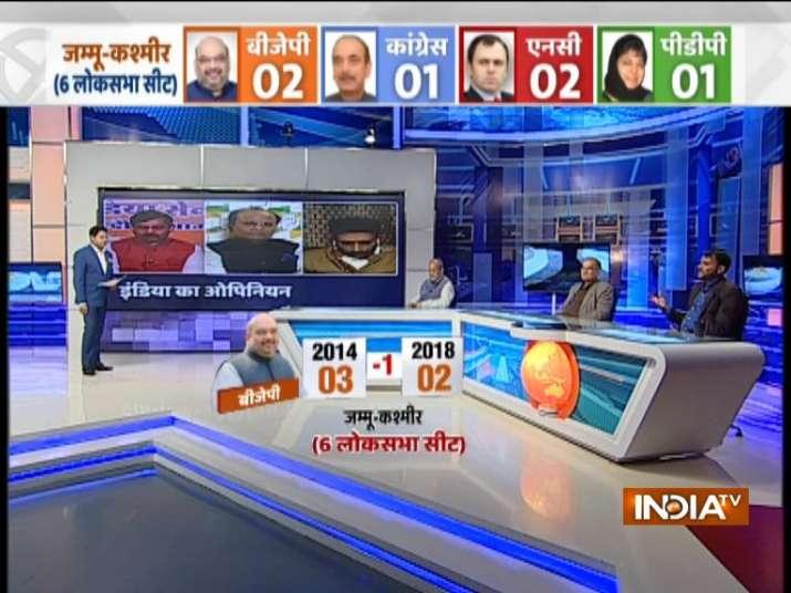 India TV CNX Opinion Poll on Jammu and Kashmir
