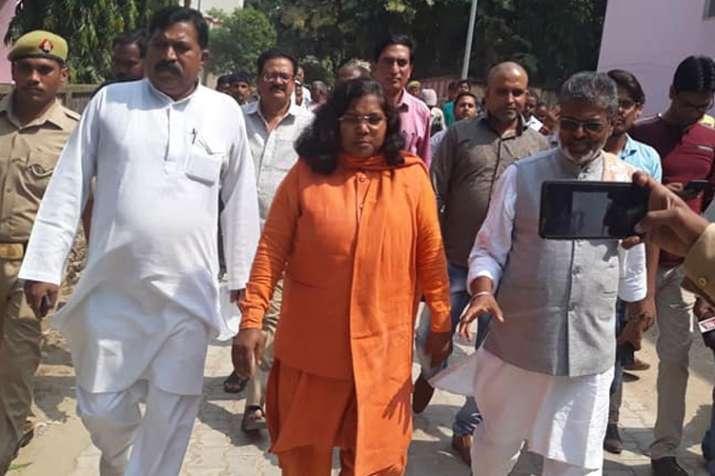 BJP MP Savitribai Phule bats for Gautam Buddha Statue at disputed site in Ayodhya
