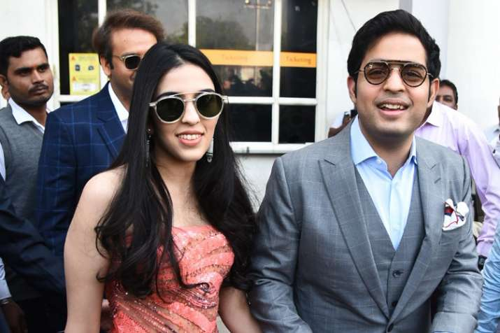Akash Ambani, Shloka Mehta, Anand Piramal
