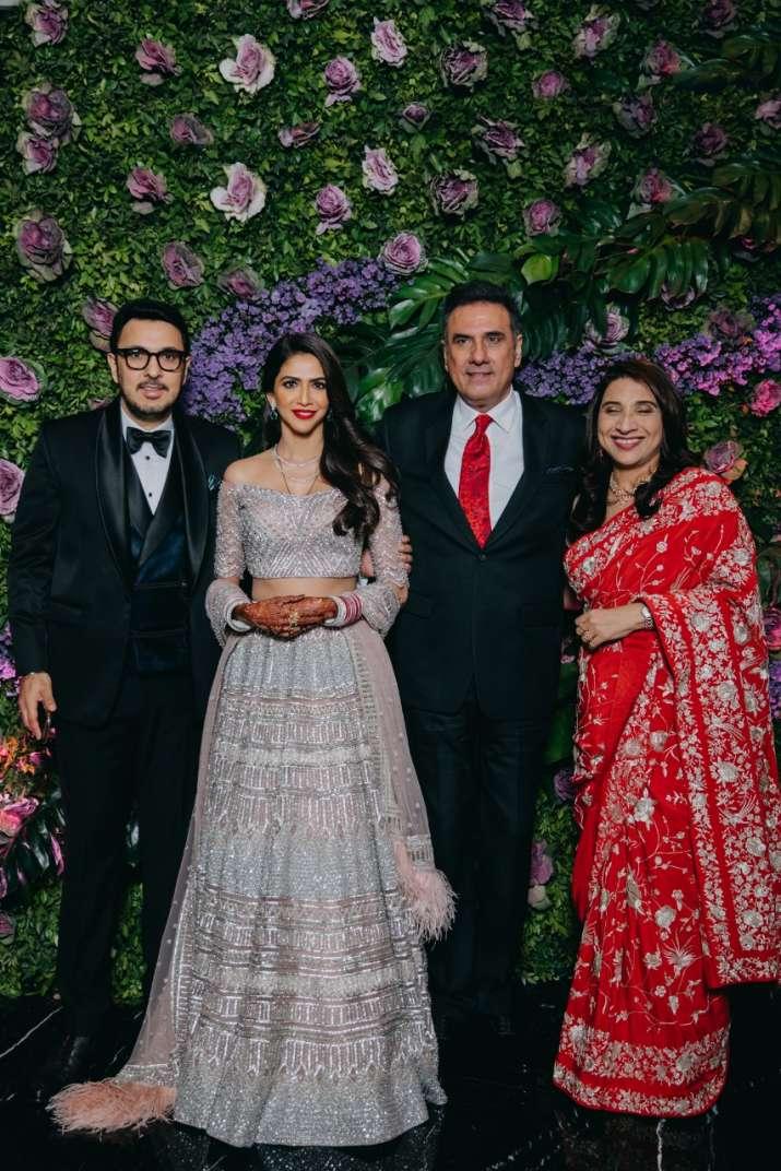 Boman Irani with couple