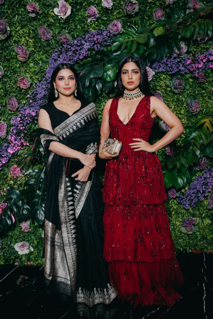 Bhumi Pednekar with sister