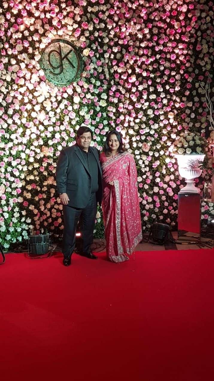 Kiku Sharda with wife