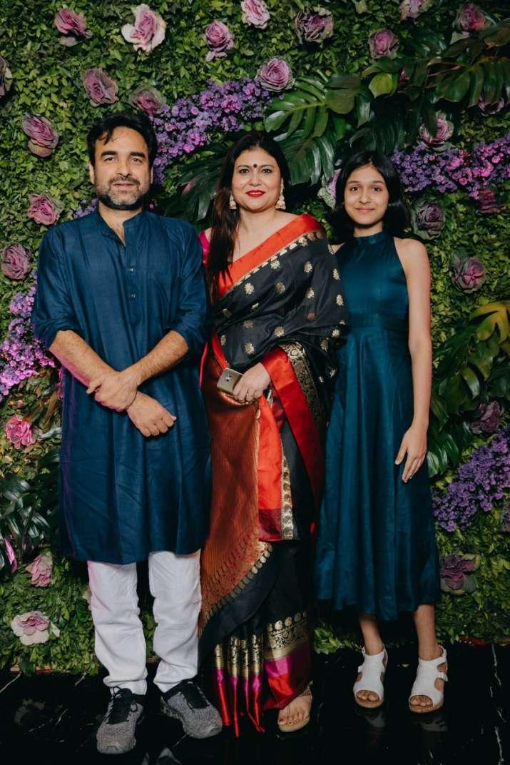 Pankaj Tripathi with family