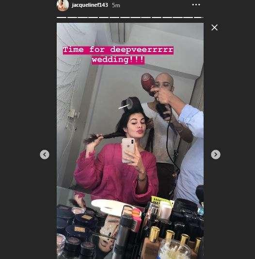 Jacqueline Fernandez Instagram Story