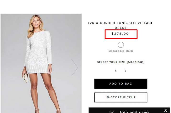 IVRIA CORDED LONG-SLEEVE LACE DRESS