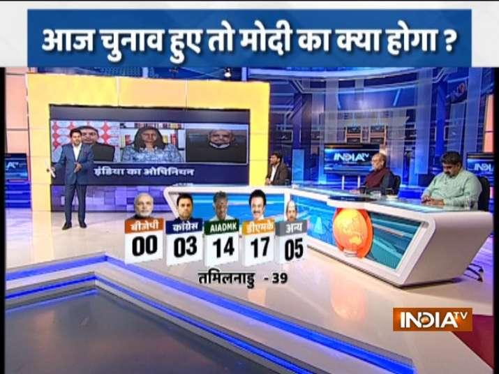 India TV-CNX Opinion poll Tamilnadu