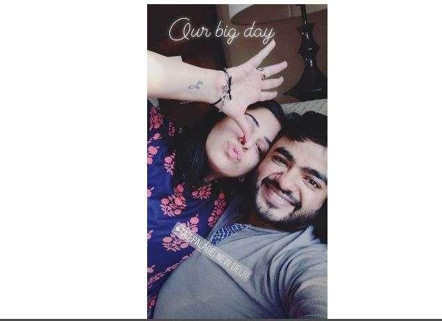 Ishita Kumar Instagram story