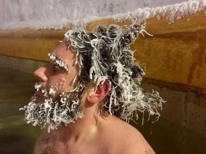 International Hair Freezing Contest