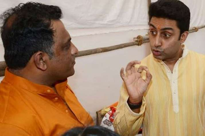 Guests at Anurag Basu's Saraswati Puja Celebration