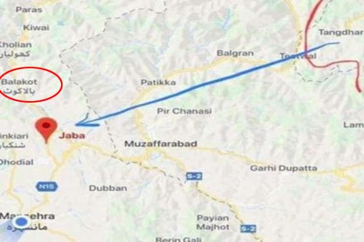 कहां है बालाकोट जहां भारतीय वायुसेना ने किया हवाई हमला?