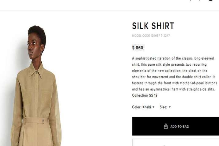 silk shirt Salvatore Ferragamo