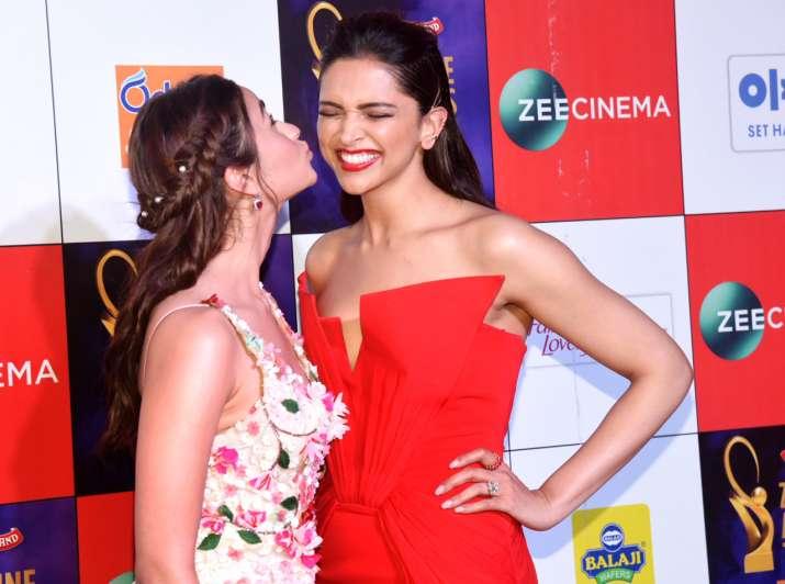 Alia Bhatt and deepika