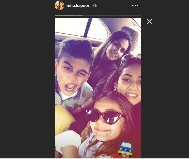 Mira Rajput Instagram Story