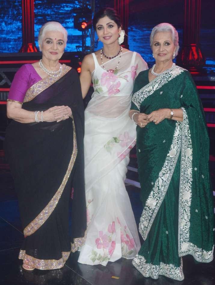 Asha Parekh , waheeda rehman, shilpa shetty