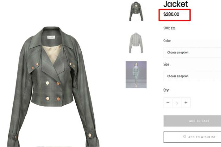 Eloshi jacket, priyanka chopra