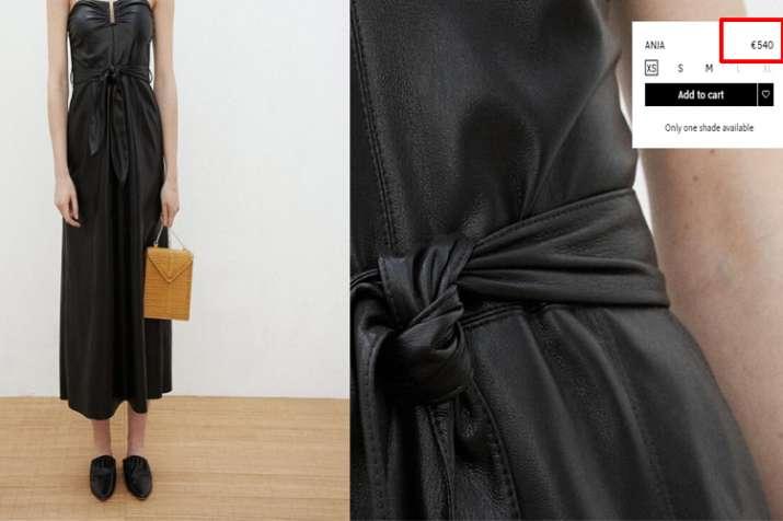 Nanushka Vegan dress with removable strap