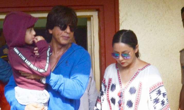 Shah Rukh Khan, Gauri Khan, Abram Khan