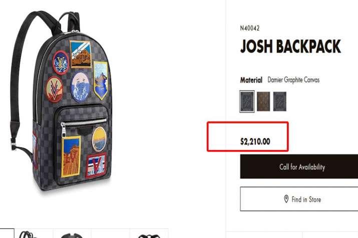 louis vuitton back bag