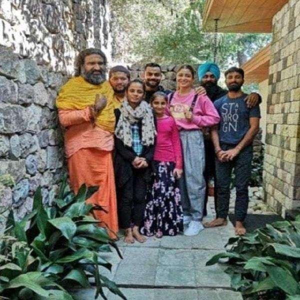 Anushka virat and anant baba