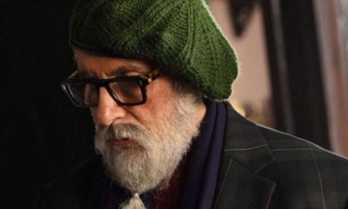Amitabh Bachchan shares his first look from film Chehre