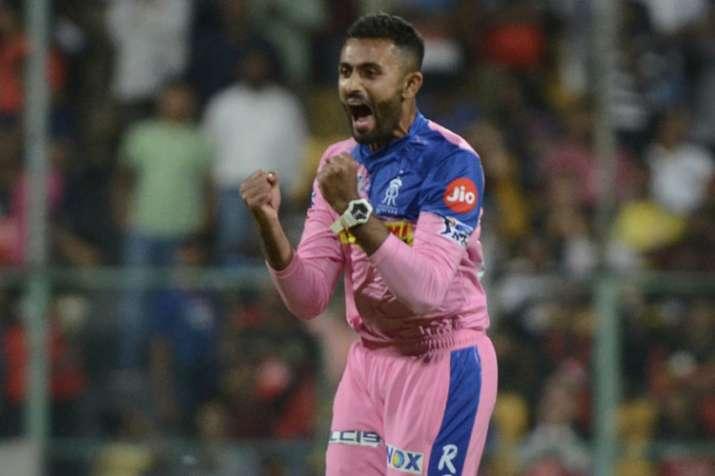 श्रेयस गोपाल, गेंदबाज राजस्थान रॉयल्स