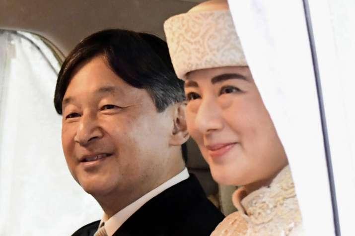 Emperor Naruhito with wife Masako   AP