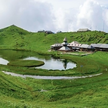 parasar lake, Himachal Tourism Official