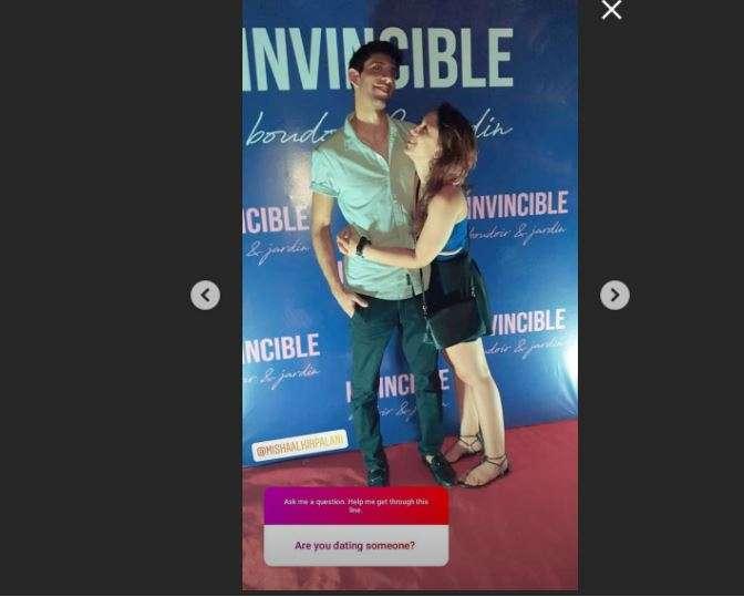 Ira Khan's Instagram Story