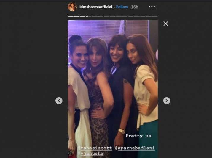 Kim Sharma's Instagram Story