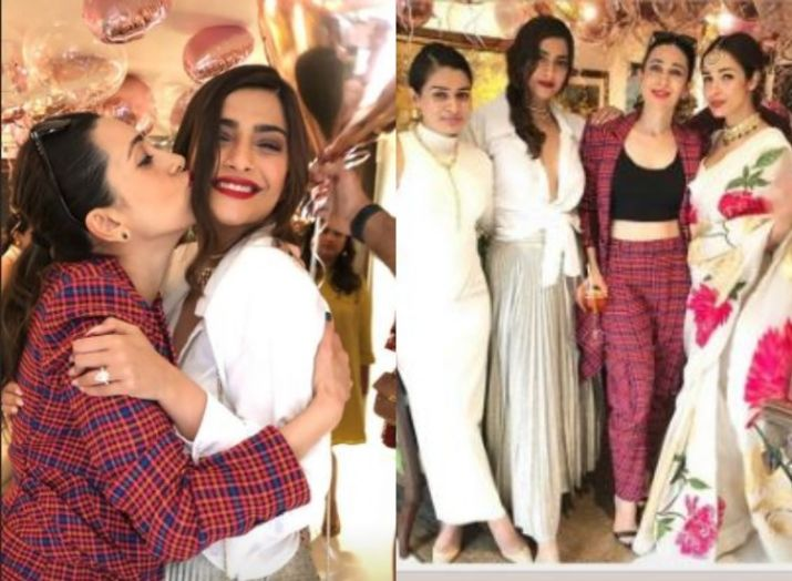 Inside pictures from Sonam Kapoor's birthday bash