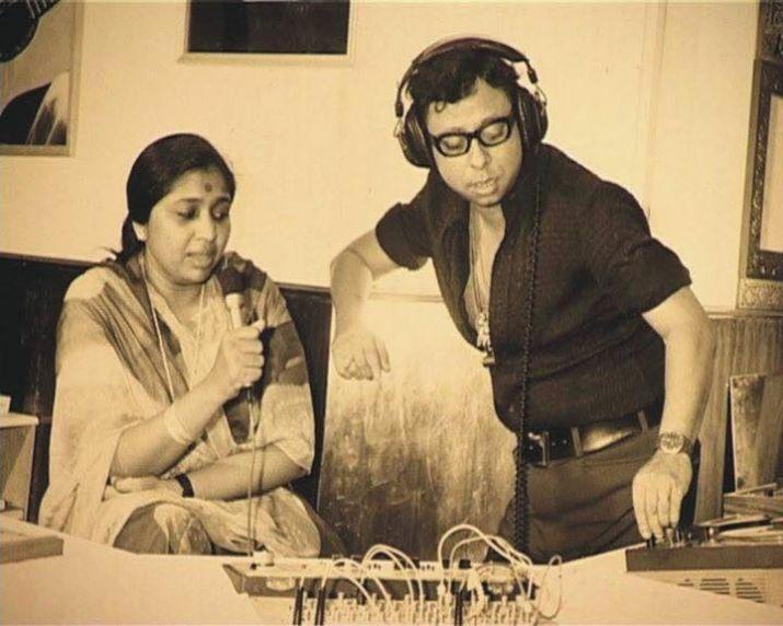 Pancham Da at a recording studio