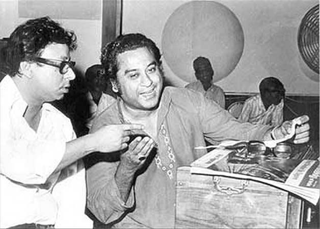 Pancham Da with Kishore Kumar