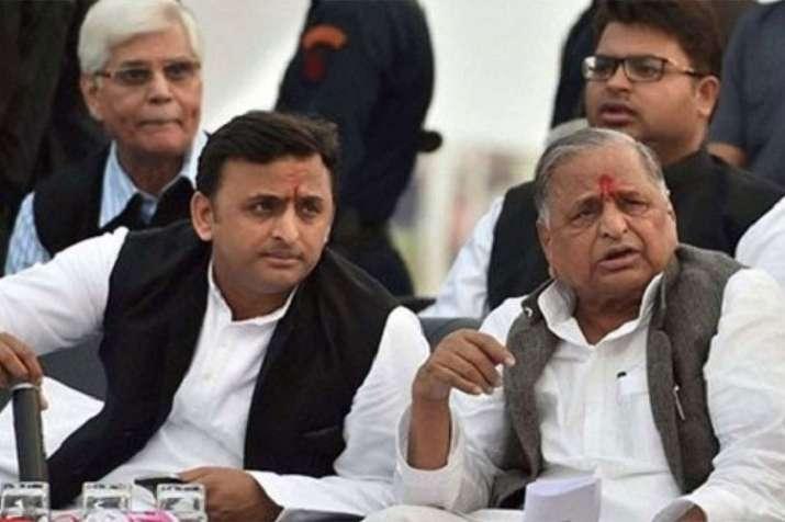 Mulayam Singh Yadav and Akhilesh Yadav | PTI File
