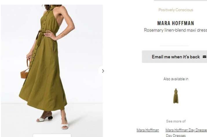 Priyanka chopra , maxi dress