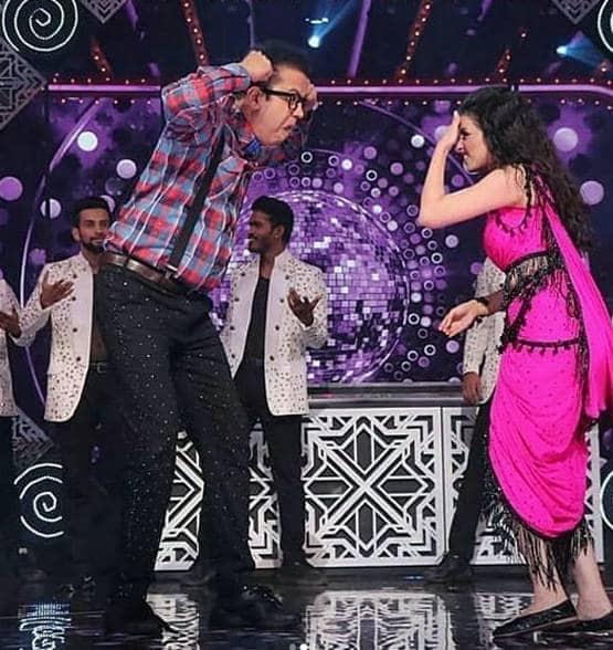 shrenu parekh slaps rahul mahajan while rehearsing for the grand premiere of nach baliye 9