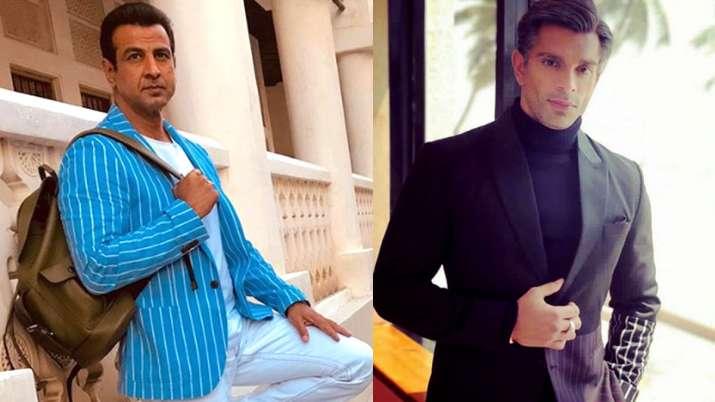 Ronit Roy and Karan Singh Grover