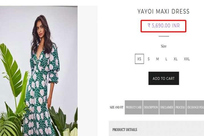 Jodi maxi dress