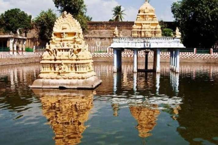 Underwater idol of deity Aththi Varadar resurfaces in Tamil Nadu after 40 years