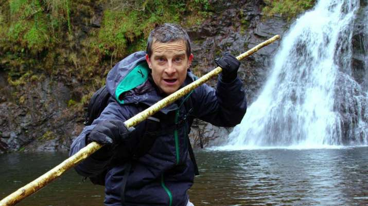 Man Vs Wild- Bear Grylls